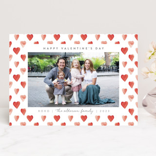 hearts frame Valentine's Day Cards