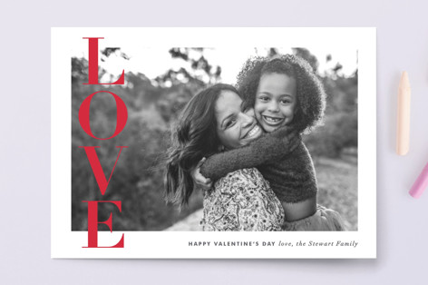 Love Banner Valentine's Day Petite Cards