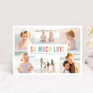 So Much Love Collage Valentine's Day Petite Cards