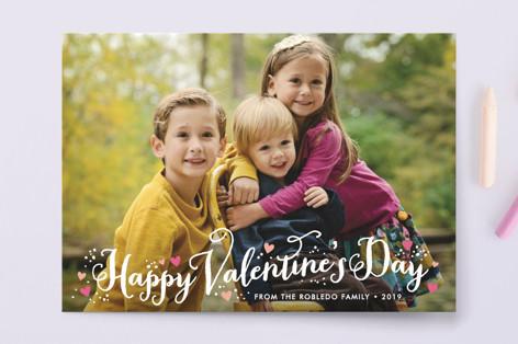 Valentine Heart Sprinkle Valentine's Day Petite Cards