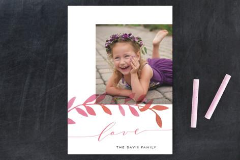 Botanical Love Valentine's Day Postcards