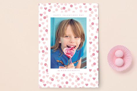 valentine confetti Valentine's Day Postcards