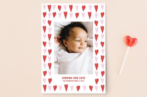 All the Hearts Valentine's Day Postcards