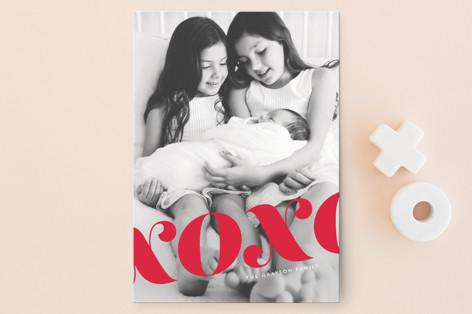 xo fancy Valentine's Day Postcards
