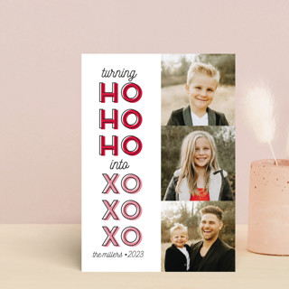 HO to XO Valentine's Day Postcards