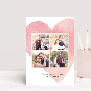 Hearty love Valentine's Day Postcards