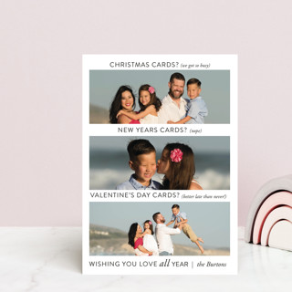 Just Being Real Valentine's Day Postcards