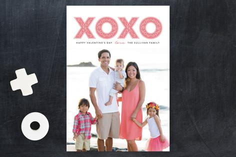Valentine Flourish Valentine's Day Postcards
