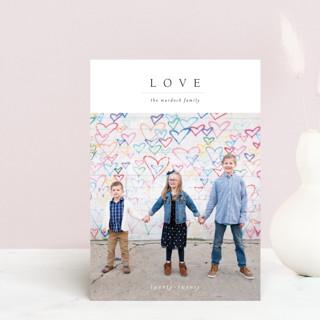 Minimal Joy Valentine's Day Postcards