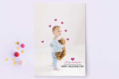 Adorable Love Valentine's Day Postcards
