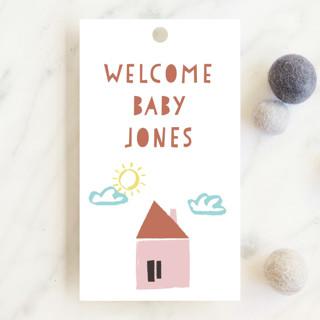 Papercut Village Baby Shower Favor Tags
