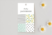 Baby Shower Favor Tags