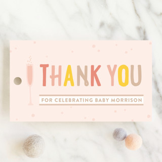 Baby Brunch Baby Shower Favor Tags