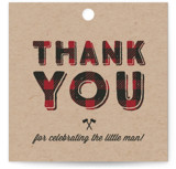 Little Man Baby Shower Favor Tags