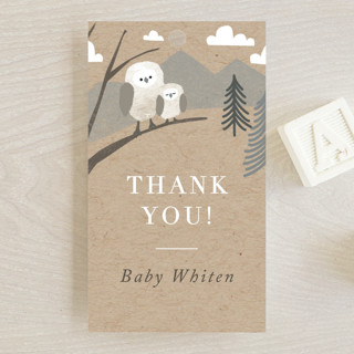 Woodland's welcome Baby Shower Favor Tags