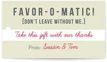 Invitation-O-Matic by Erin Pescetto