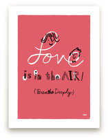 Love is in the Air! Art Prints
