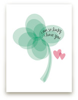 Lucky Clover Art Prints