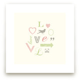Language of Love Art Prints