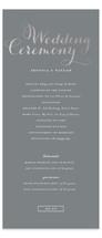 Just Lovely Foil-Pressed Wedding Programs