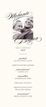 Elegant Script Wedding Programs
