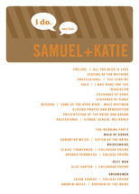 Smart Conversation Wedding Programs