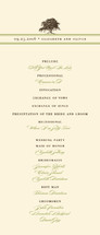 Oak Tree Wedding Programs