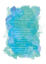 Aquarelle Wedding Programs