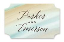 Beautiful Earth Wedding Favor Stickers