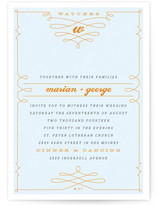 Mr. Watters Print-It-Yourself Wedding Invitations