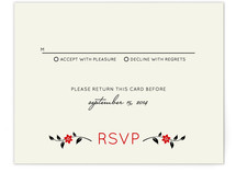 Happiness Doubled Print-It-Yourself RSVP Cards