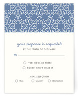 Winter Wedding Print-It-Yourself RSVP Cards