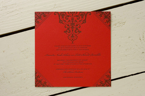 Winter wedding invitations don 39t need to embrace only the classic snowflake