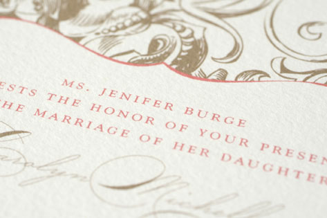 Carolyn Wedding Invitations by Wiley Valentine