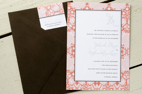 Yolanda Wedding Invitations by Wiley Valentine