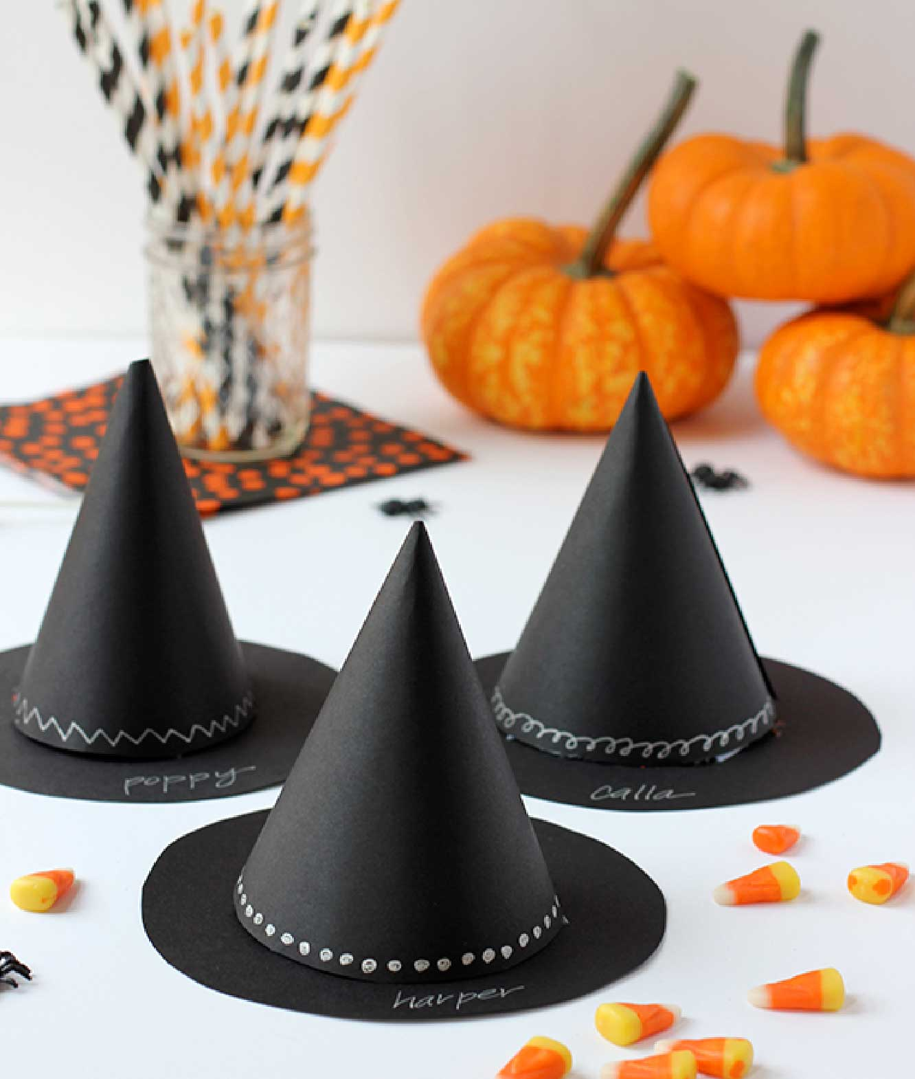 Halloween Witch's Hat Party Favors