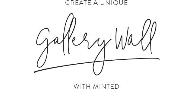 Create a Unique Gallery Wall with Minted
