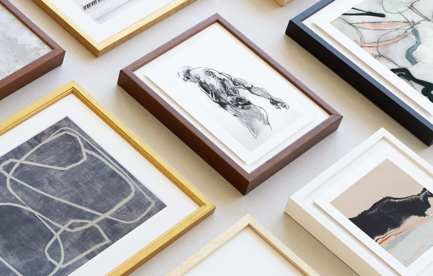 luxe framing and mounting