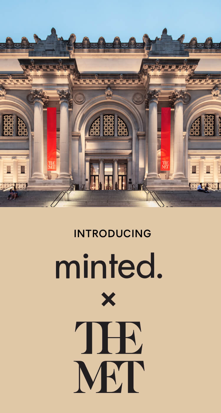 minted x The Met