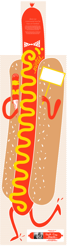 Kayla King's Hotdog Box