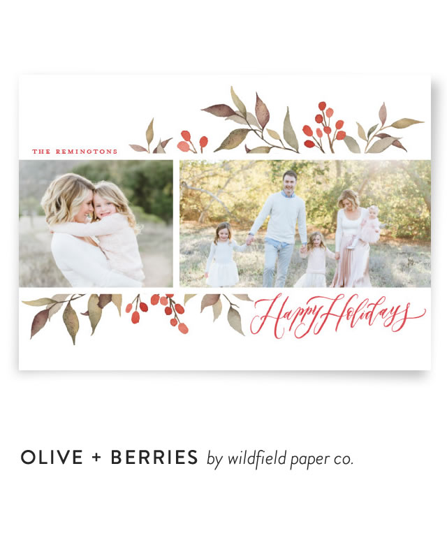 Olive + Berries by Wildfield Paper Co.