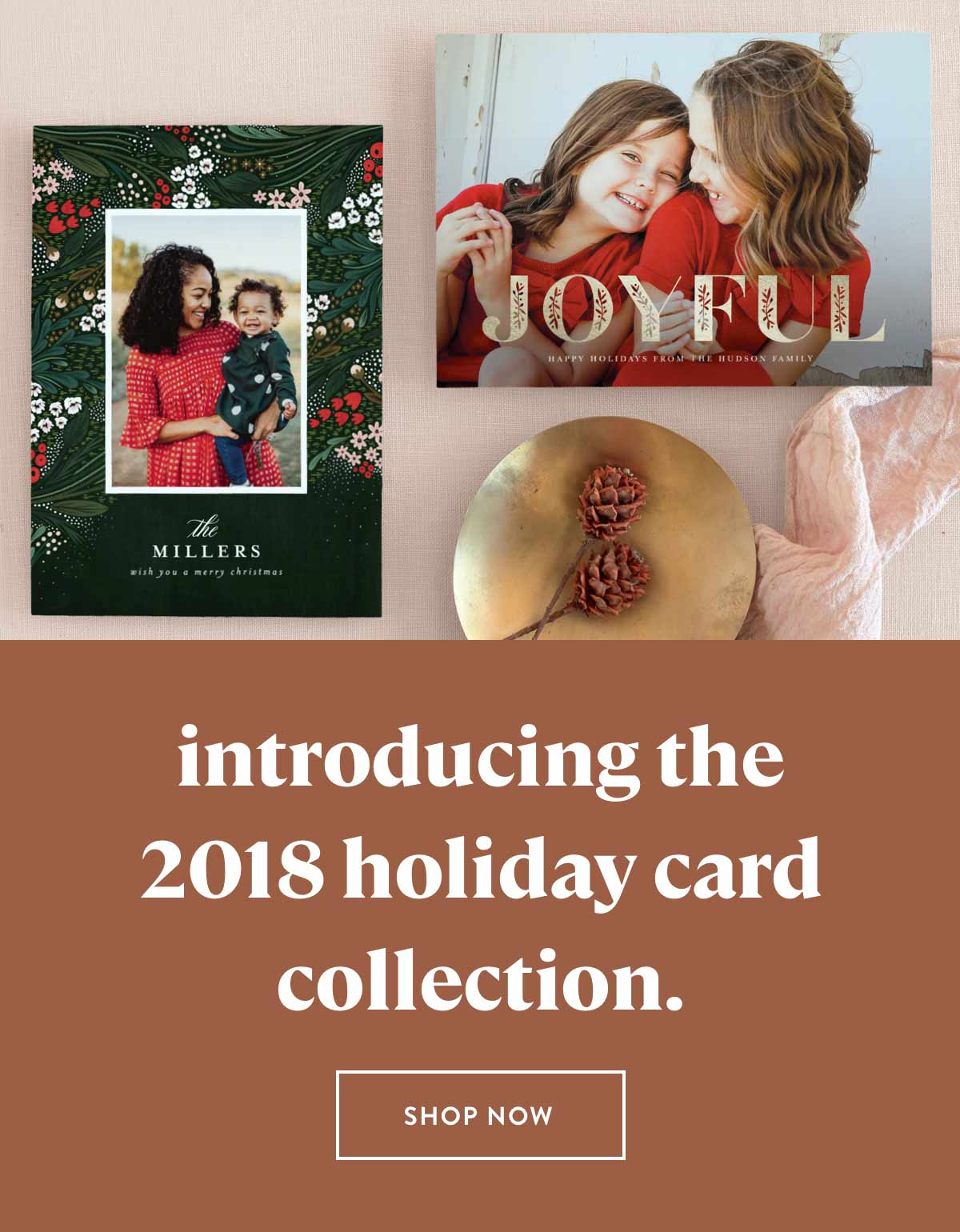 introducing the 2018 holiday card collection