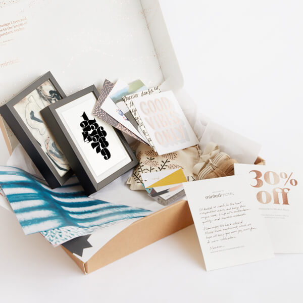Join Minted More now
