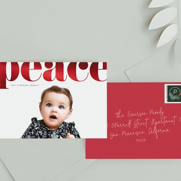 Shop Foil-Pressed Holiday Cards