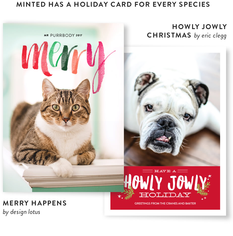 Merry Happens by lotus design, Howly Jowly Christmas by eric clegg