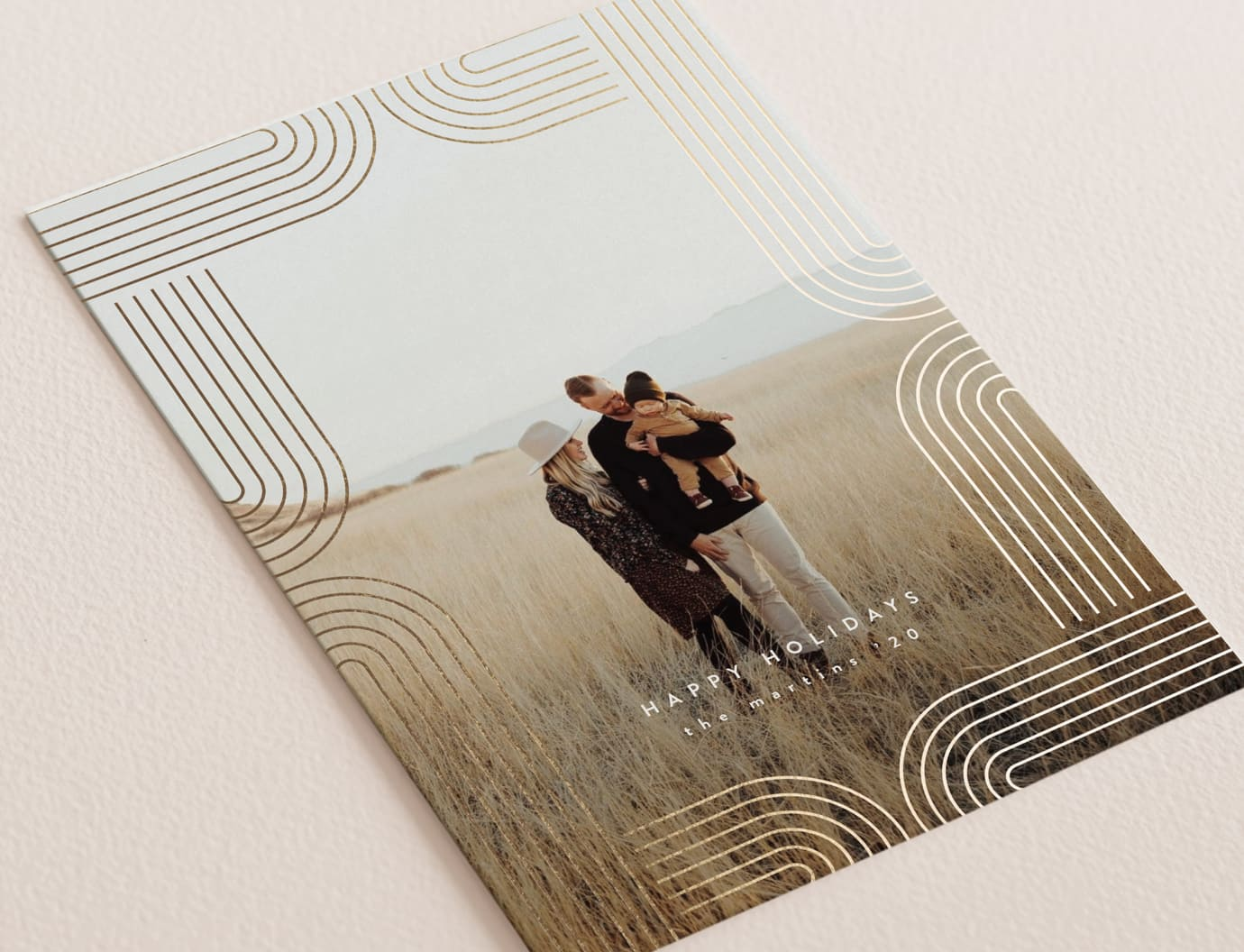 Arches holiday card trend