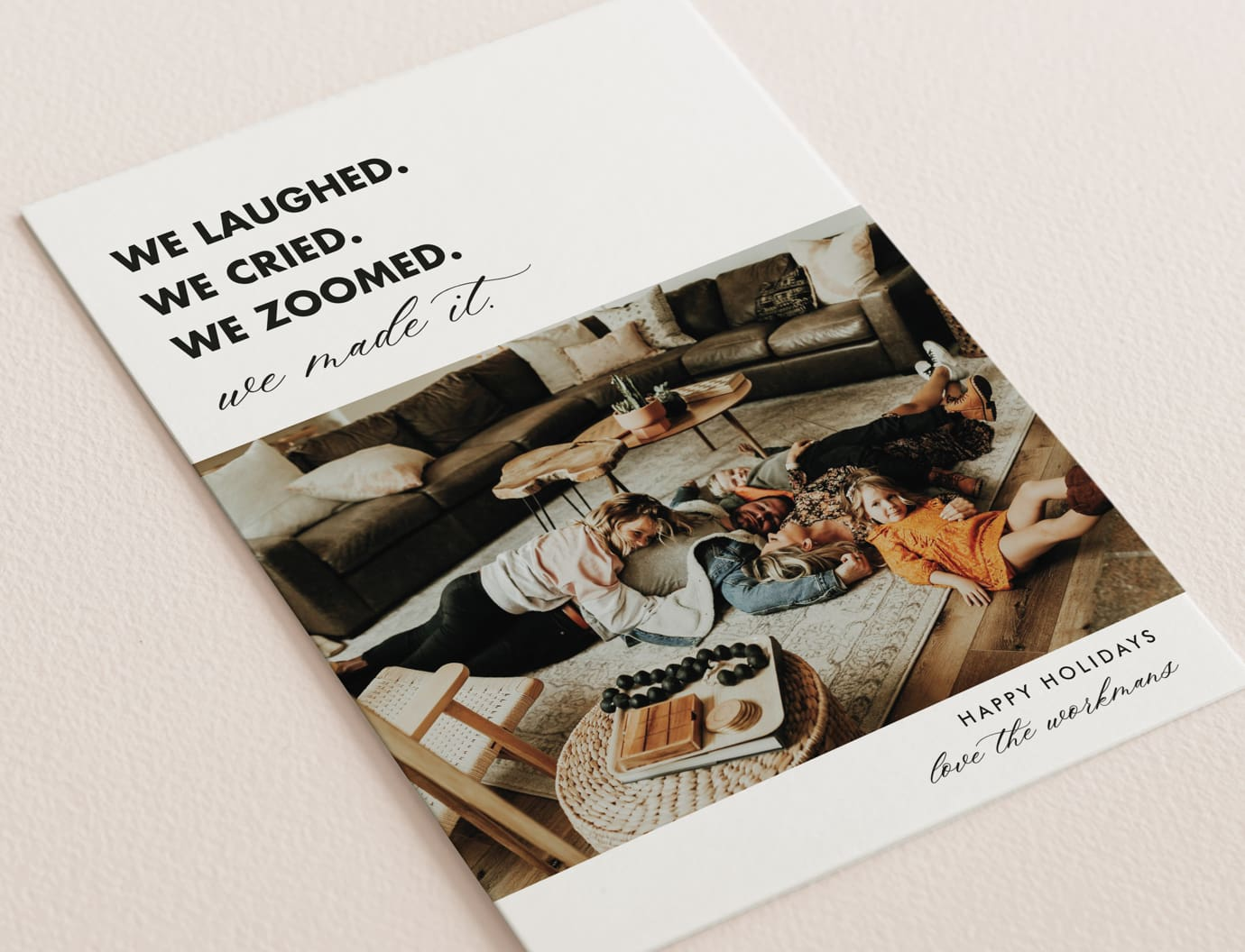 A year like no other - holiday card trend
