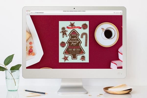 Cookiefest Holiday Party Online Invitation