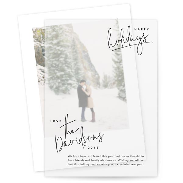 Hand-written Holiday by Lindsay Stetson Thompson