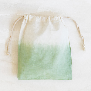 Dip-Dyed Pouch